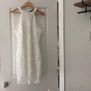 Dresses & Skirts - Halter white lace dress